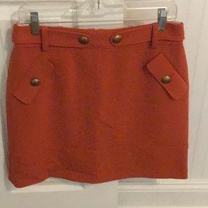 Brooks Brothers Red Fleece skirt